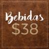 BEBIDAS $38